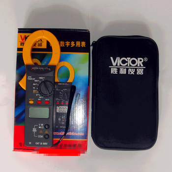 VICTOR VC6056B Professional 3 3/4 Clamp meter Autoranging Multimeter