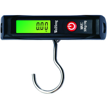Digital LCD Electronic Luggage Baggage Scale 50Kg/10g With Hook WH-A12