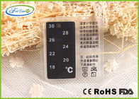 Reusable Heat Sensitive Garment Liquid Crystal Thermometer for Warmth Care 18 ~ 30 ℃