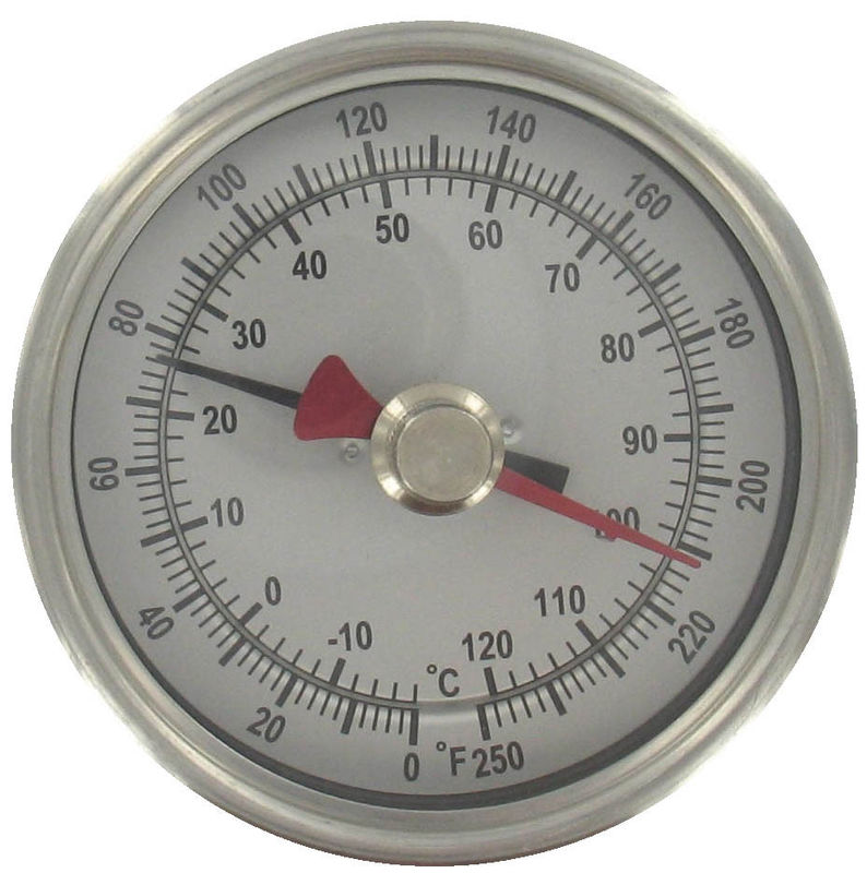 Outdoor ABS industrial desktop Bimetal Temperature Sensor thermometer hygrometer